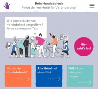 Handabdruck Test Screenshot