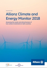 Cover Allianz Klima- und Energiemonitor 2018