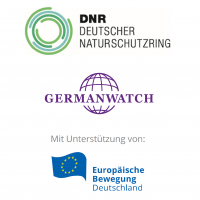 Logos Germanwatch, DNR, EBD 2020