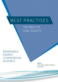 Renewable Energy with people in africa - Titelblatt, Publikation
