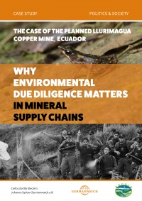 Why environmental due diligence matters in minerals supply chain : the case of the planned LLurimagua copper mine, Ecuador