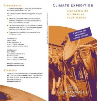 Deckblatt: Flyer Climate Expedition
