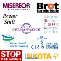 Logos,-Germanwatch,-Powershift,-Inkota-CIR-Brot-Misereor-Inkota-oek-netzwerk-zentralafrika-stop-mad-mining,-FuE