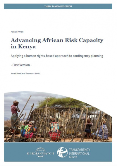 Advancing African Risk Capacity Kenya