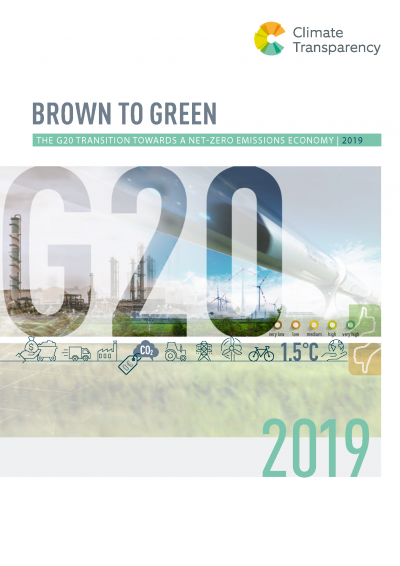 Cover: Brown to Green Report 2019