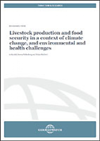Cover Livestock and food security