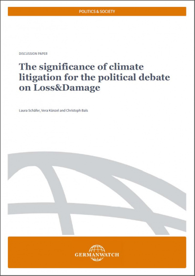Cover: Climate Litigation and Loss&Damage
